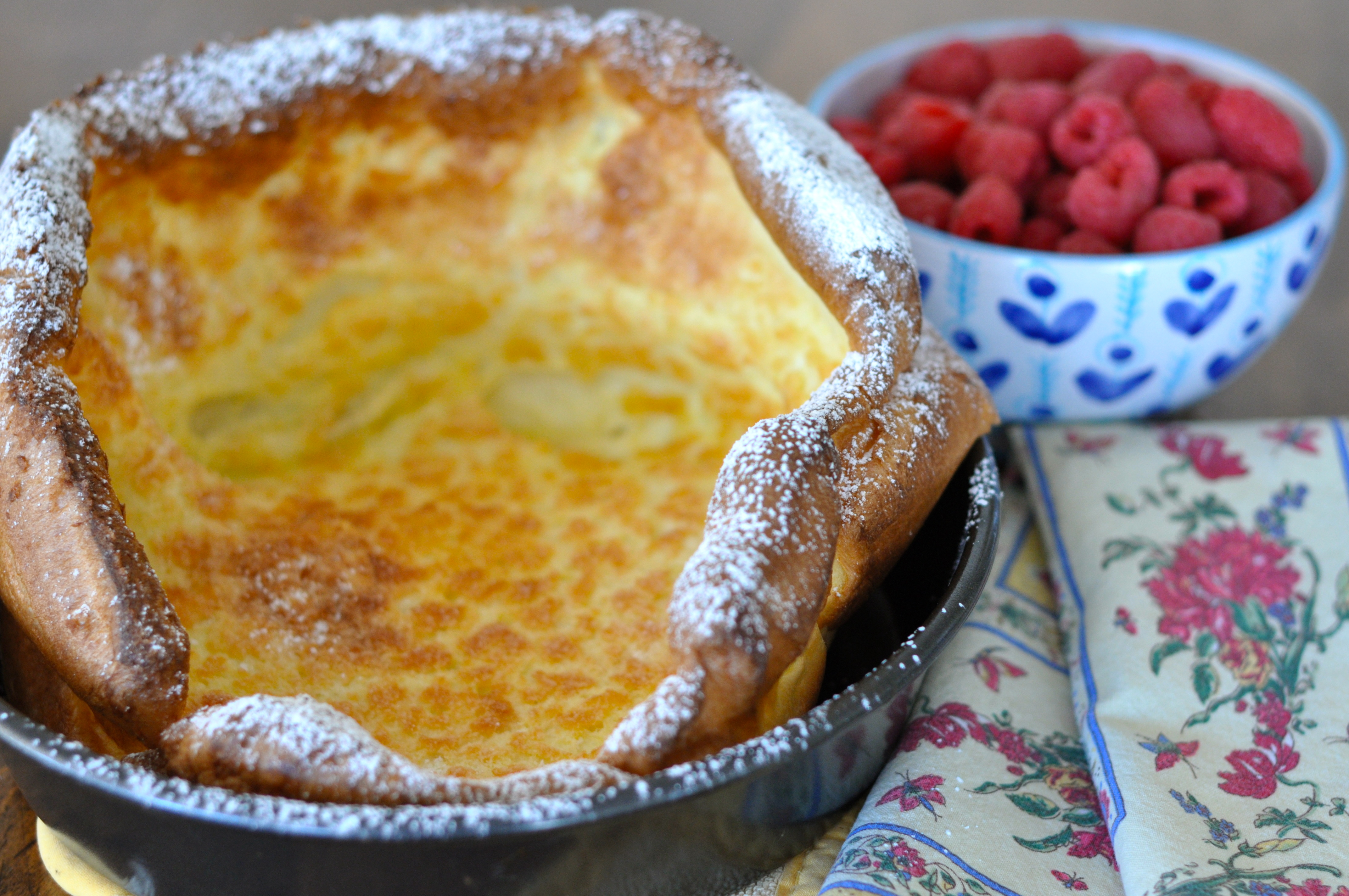kids love baked german pancakes the eggy batter is cooked in the oven ...