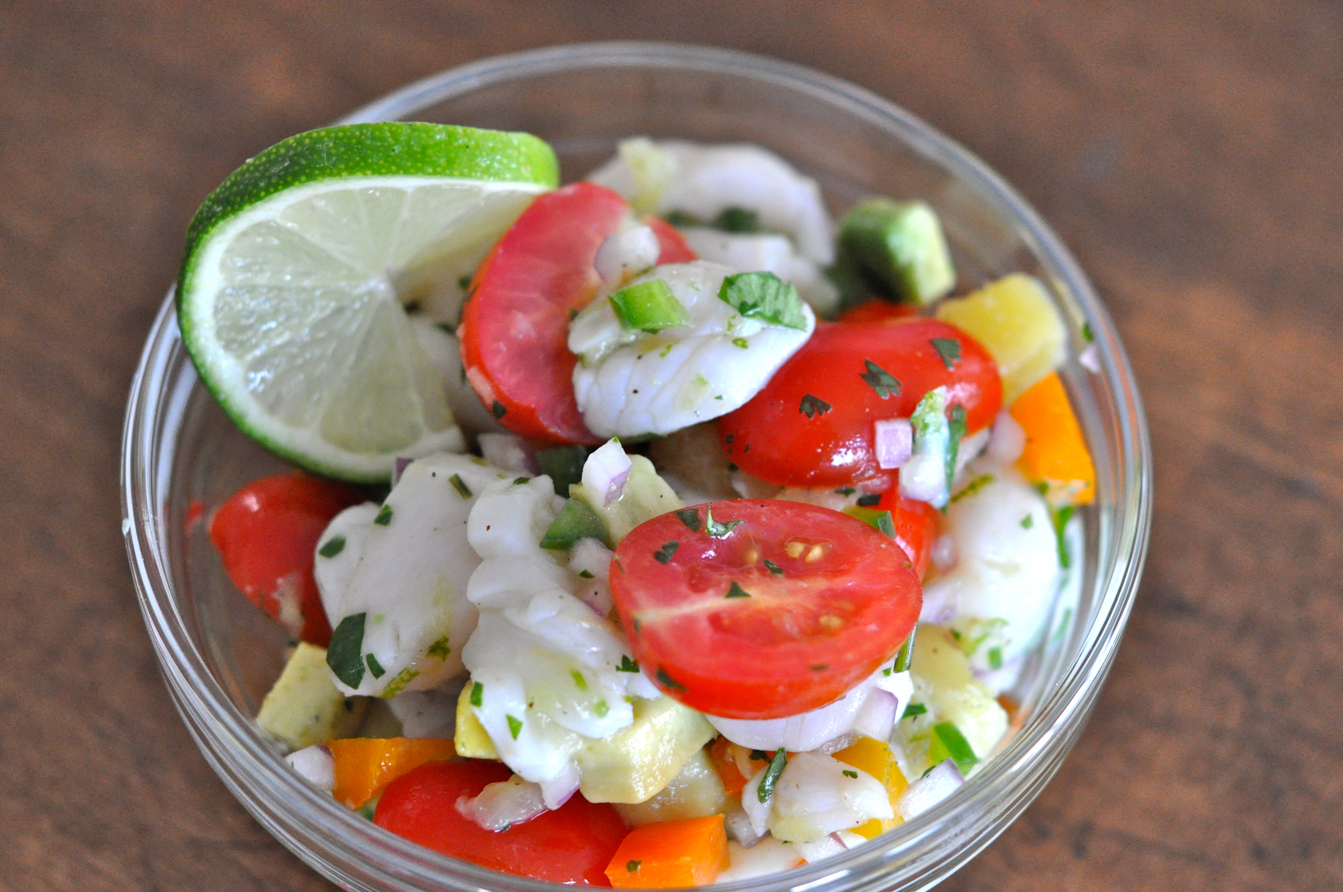 Fresh Scallop Ceviche | Just Pinch Me
